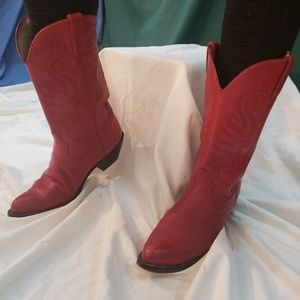 Red Durango cowgirl boots